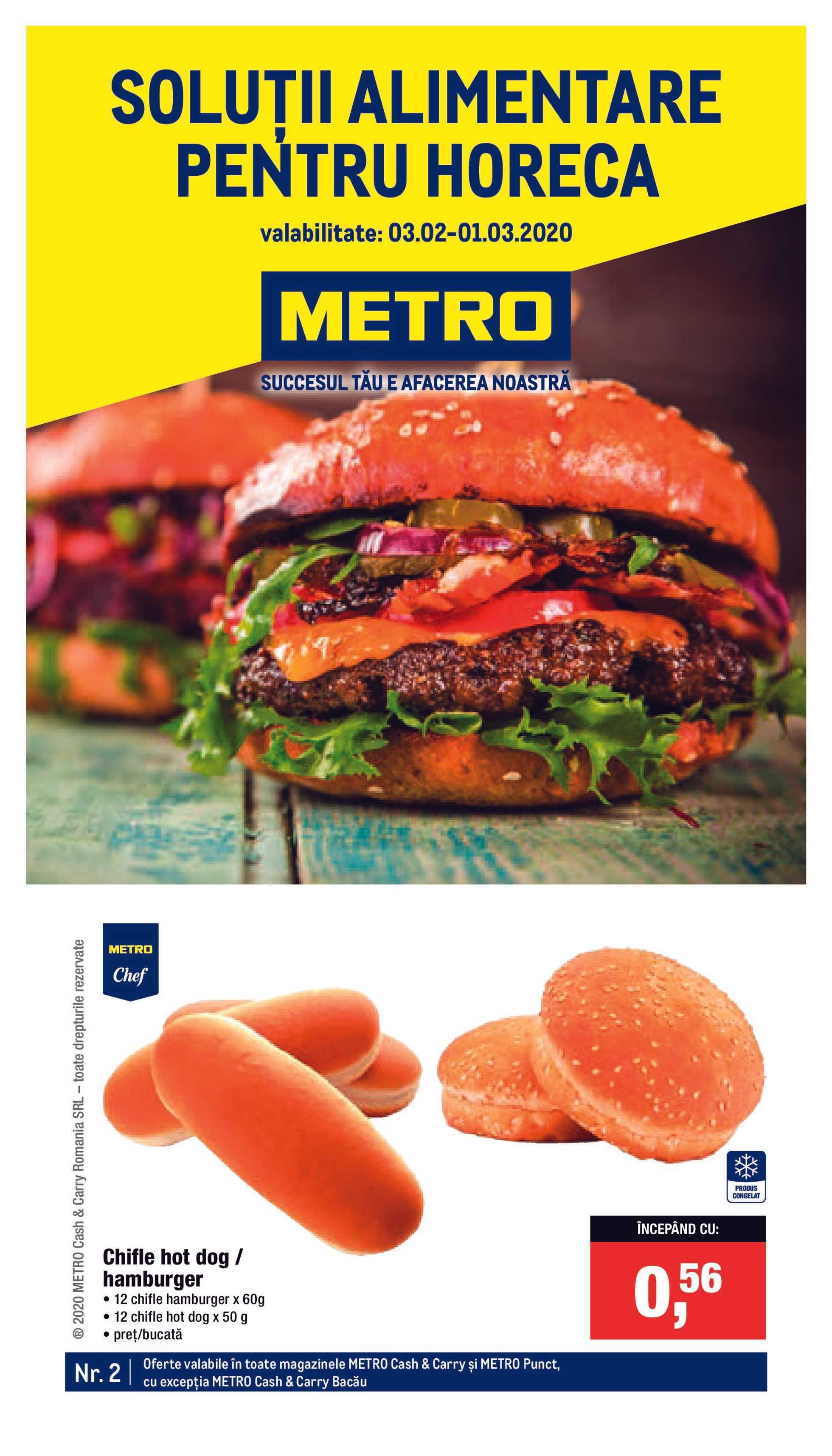 Metro - promo începând de la 03.02.2020 până la 01.03.2020 - pagină 1.