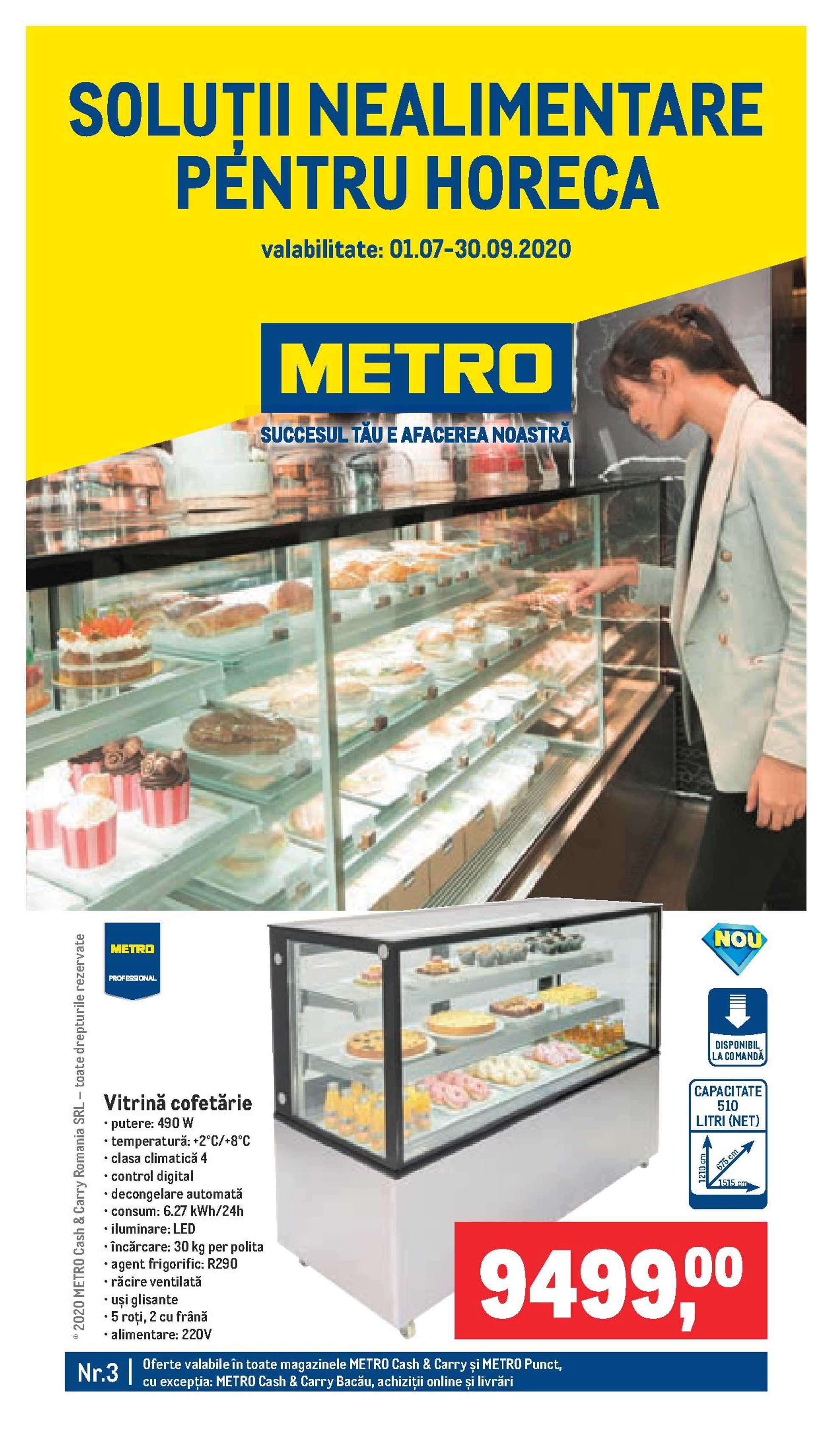 Metro - promo începând de la 01.07.2020 până la 30.09.2020 - pagină 1.