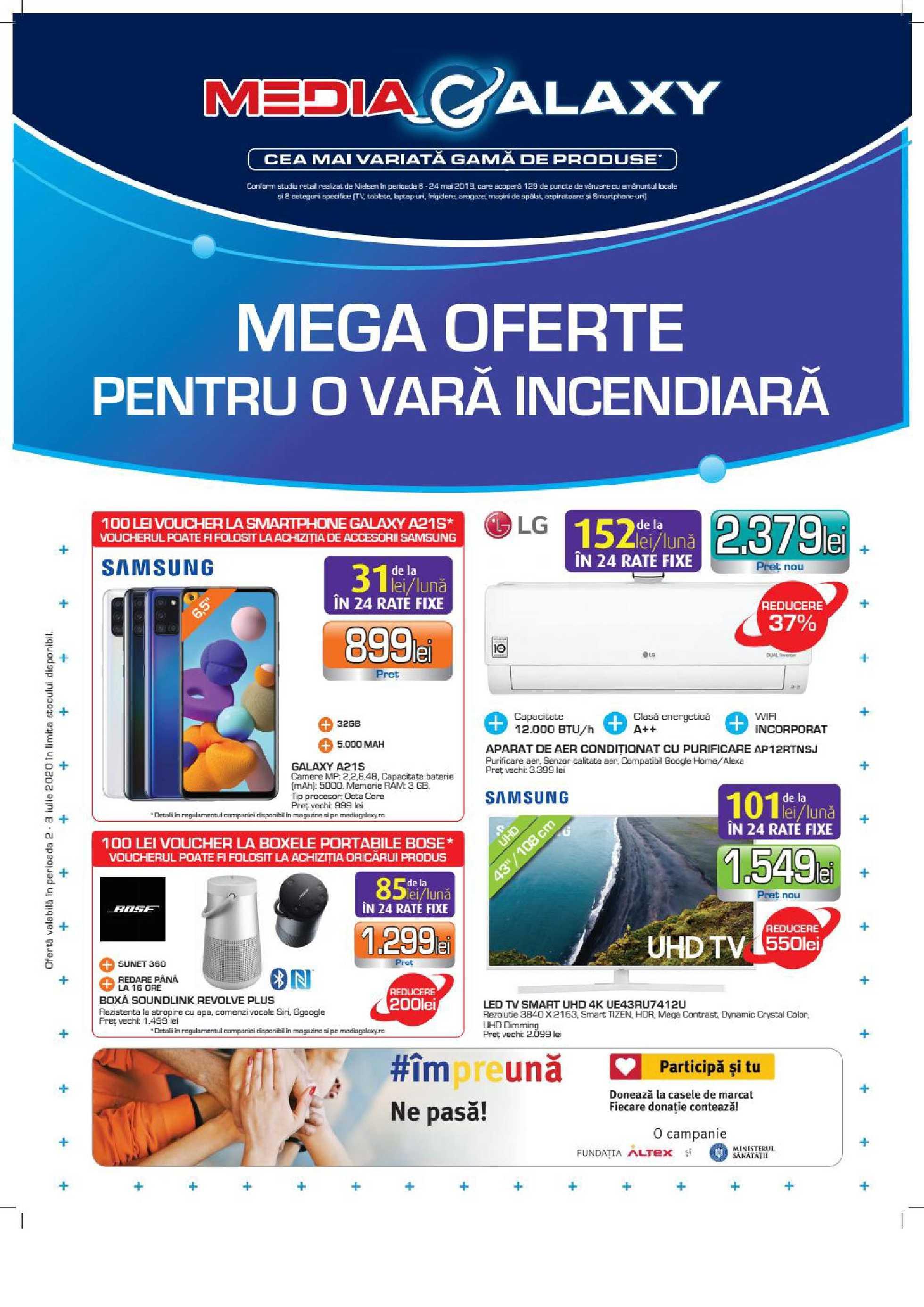 Media Galaxy - promo începând de la 02.07.2020 până la 08.07.2020 - pagină 1.