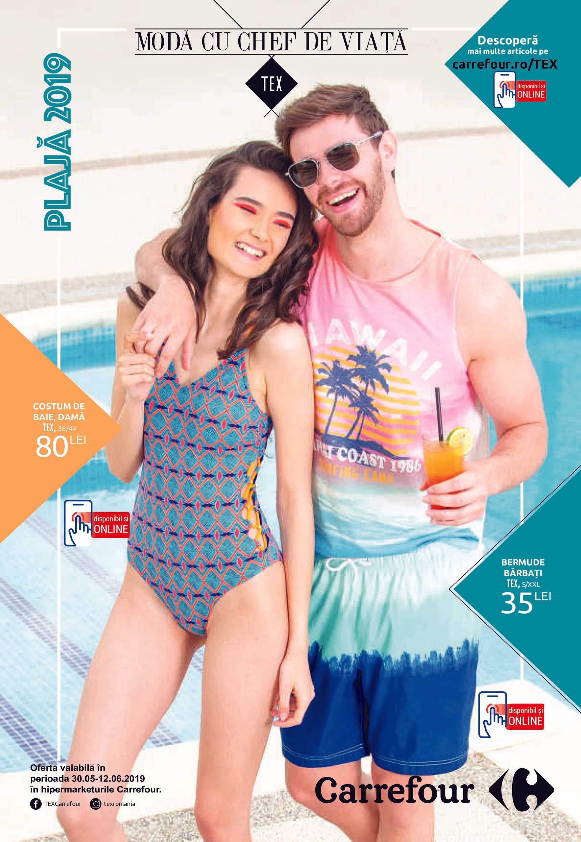 Carrefour - promo începând de la 30.05.2019 până la 12.06.2019 - pagină 1.