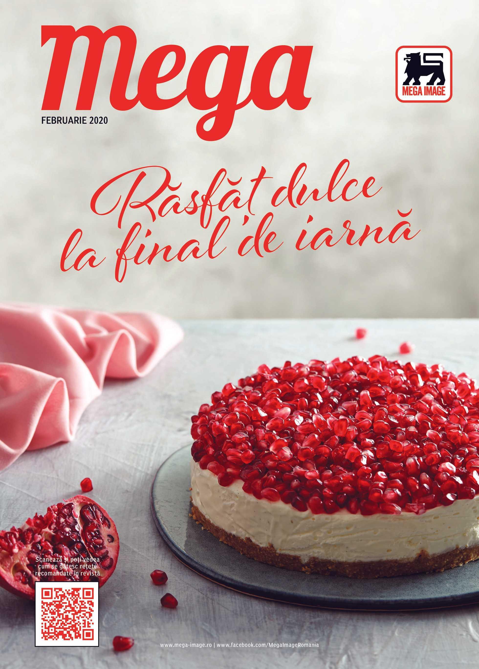 Mega Image - promo începând de la 30.01.2020 până la 25.02.2020 - pagină 1.