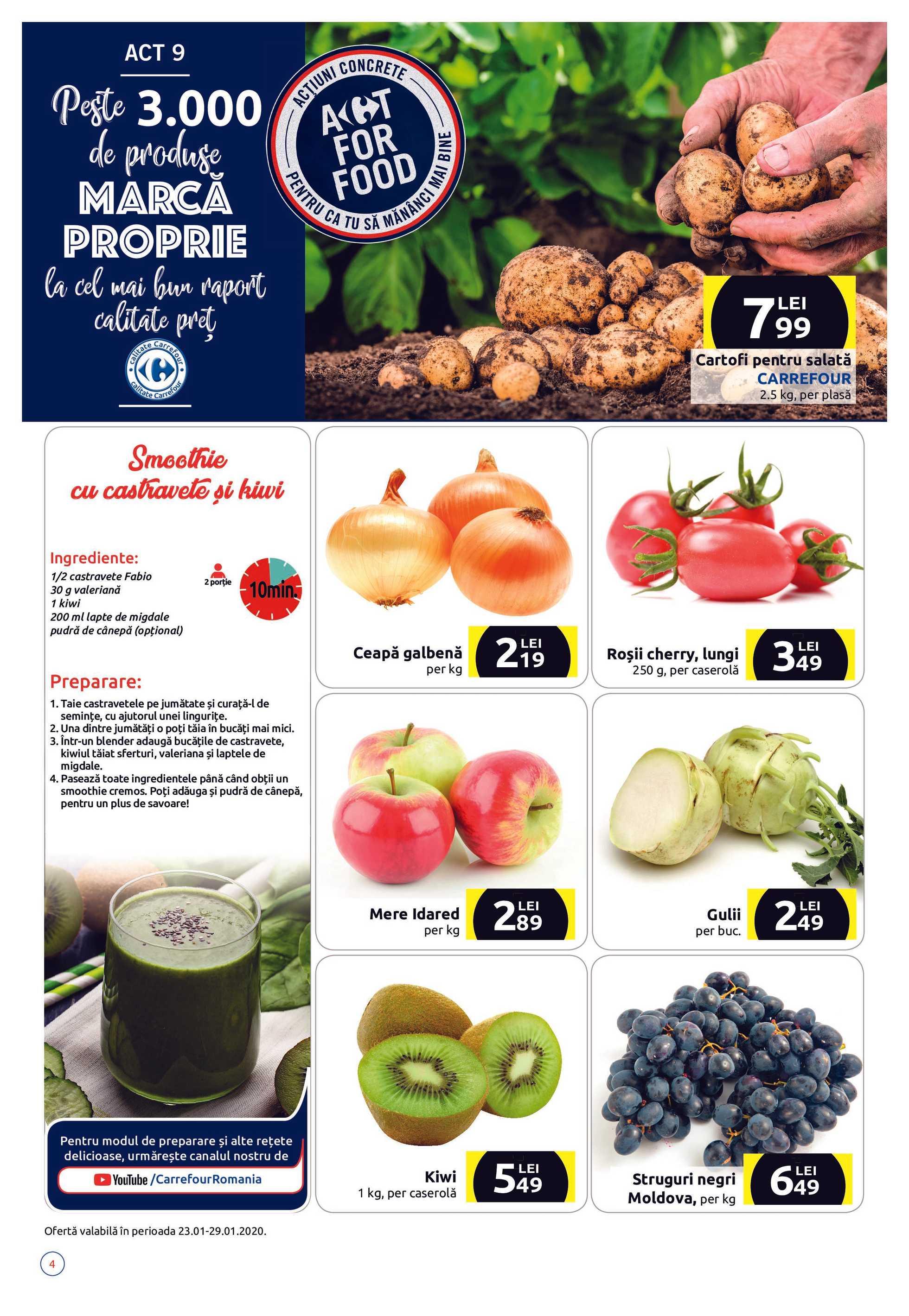 Carrefour - promo începând de la 23.01.2020 până la 05.02.2020 - pagină 4.
