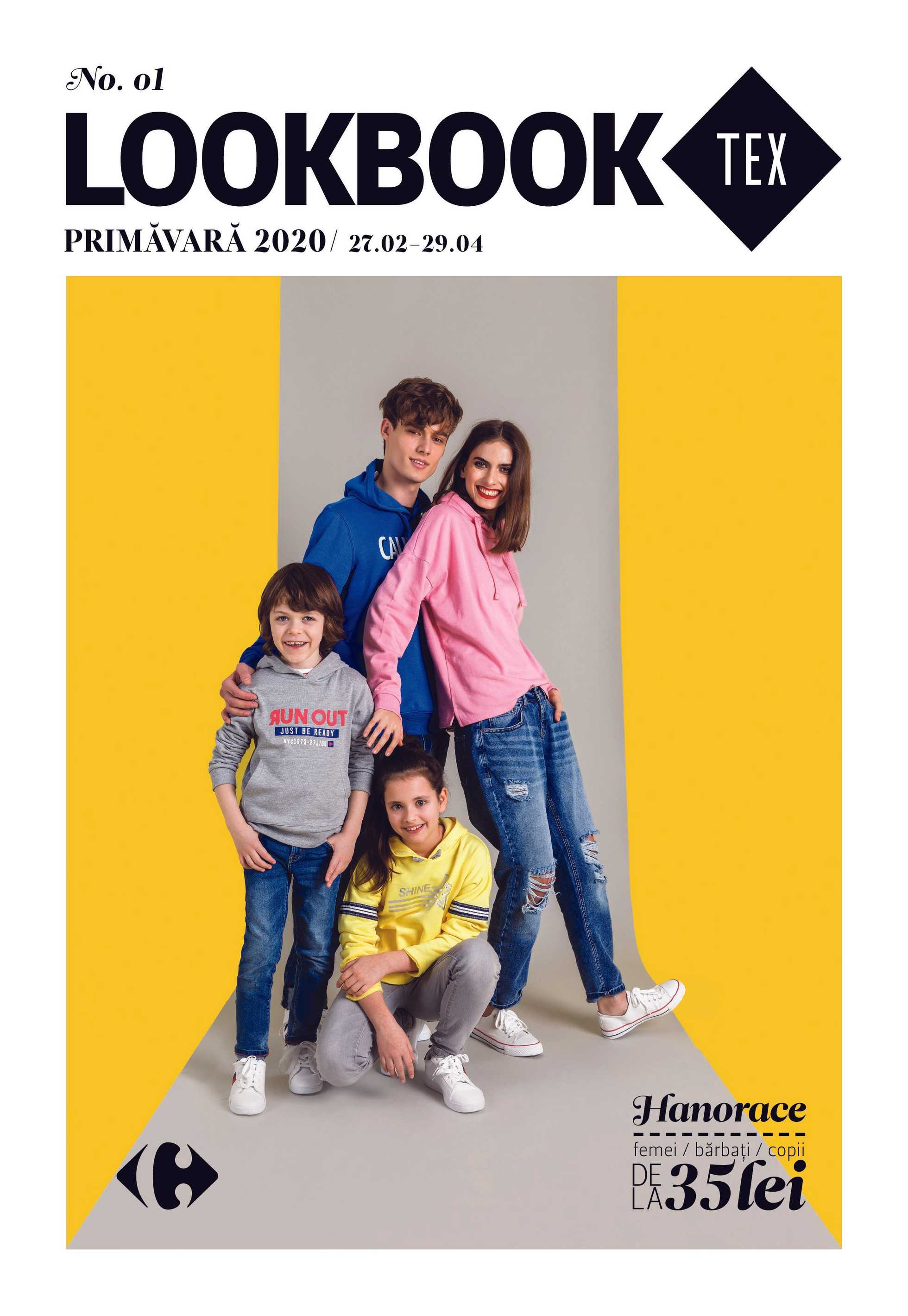 Carrefour - promo începând de la 27.02.2020 până la 29.04.2020 - pagină 1.