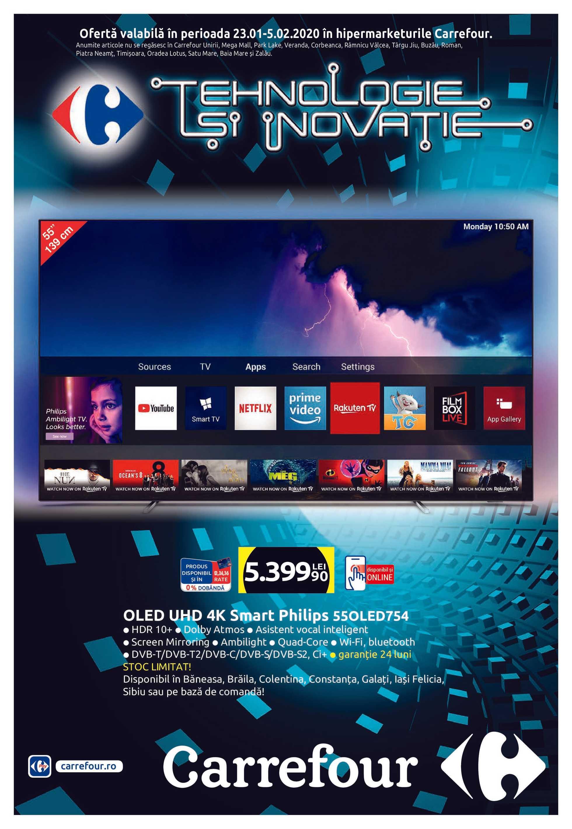 Carrefour - promo începând de la 23.01.2020 până la 05.02.2020 - pagină 1.