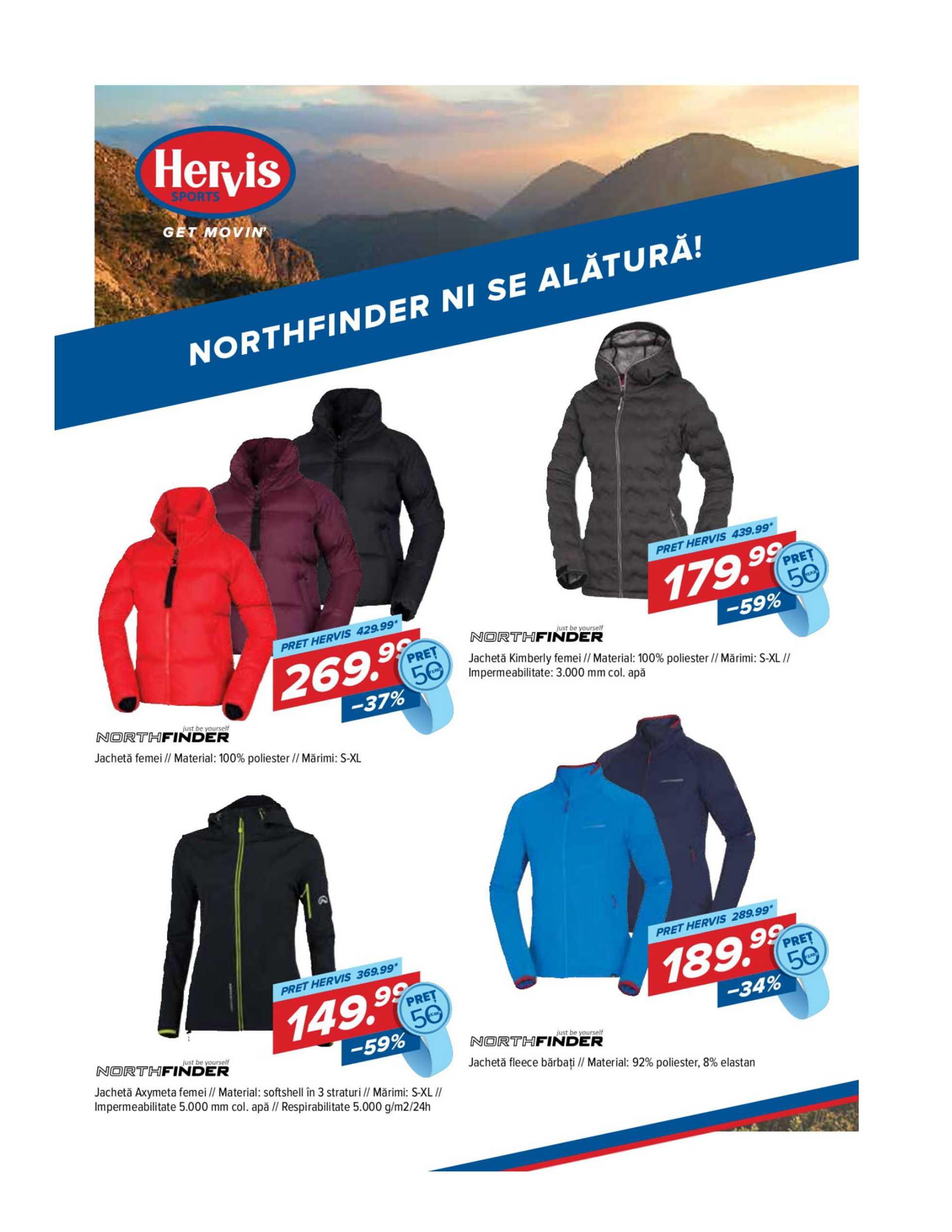 Hervis Sports - promo începând de la 22.10.2020 până la 01.11.2020 - pagină 4.